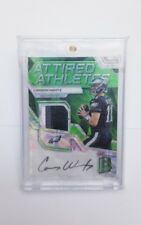 2017 SPECTRA ATTIRED ATHLETES CARSON WENTZ PATCH AUTO /10 EAGLES