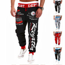 Mens Casual Jogger Dance Sportwear Baggy Harem Pants Slacks Trousers Sweatpants!