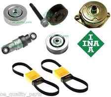 OEM INA BMW E46 320d 136PS Tensioner Kit Full Set Guide Tensioners Pulley Damper