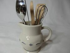 Longaberger Collectors Club miniature Milk Pitcher with set of Utinsels