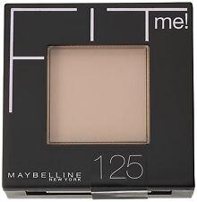 Maybelline Fit Me Pressed Powder Foundation - 125 Nude Beige