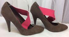 Zara Party Suede Slim Heels for Women