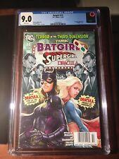 BATGIRL #14 🔥Newsstand Edition CGC 9.0 Artgerm Cover Supergirl Dracula 1:100?