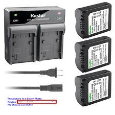 Kastar Battery AC Rapid Charger for CGA-S006 S006 & Panasonic Lumix DMC-FZ35K