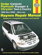 1996-2002 Dodge Caravan Voyager Town&Country Repair Manual 2001 2000 1999 4692