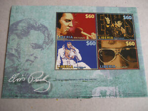 LIBERIA    2008      ELVIS PRESLEY  SHEETLET