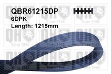 VW TRANSPORTER Mk5 1.9D Multi V Drive Belt 06 to 09 QH VOLKSWAGEN Quality New