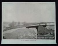 Civil War Print - New York Harbor at the Opening of the War