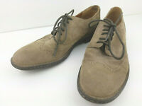 Born Gray Suede Men's Sz 13 Lace Up Wingtip Oxford Shoes