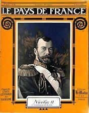 Portrait Nicolas/Nicholas II Nikolaï Aleksandrovitch Romanov tsar  1915 WWI