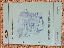 Techniker Information Ford 1,6 Liter CVH CFI Motor Produkt Schulung