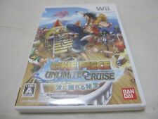 Japanese Wii Exclusive Use One Piece Unlimited Cruise Episode 1 Japanese Version