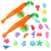Educational Baby Child Kids Magnetic Fishing Rod Fish Model Toy Fun Game Gift