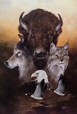 SPIRIT OF THE FRONTIER Limited Edition Litho BY Eddie LePage