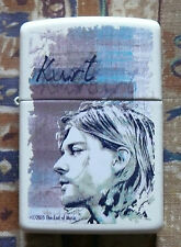 MUSIC KURT COBAIN ZIPPO LIGHTER FREE FLINTS