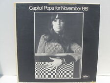 The Capitol Disc Jockey Album November 1966 Pops for Nov '66! promo NM vinyl lp