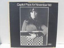 The Capitol Disc Jockey Album November 1966 Pops for Nov '66! promo NM vinyl lp