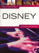 Really Easy Piano: Disney - 23 favoris, y compris un tout nouveau monde