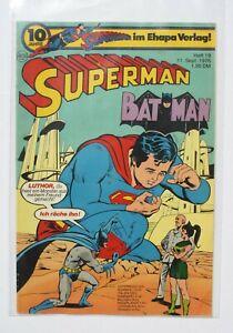 EHAPA / SUPERMAN Heft 19 von 1976 / mit Sammler Ecke / Top Zustand