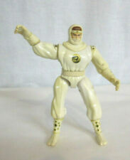 1995 Bandai White Ninga Figure Mighty Morphin Power Rangers 5.5""