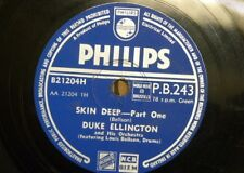 78 rpm DUKE ELLINGTON skin deep , parts 1&2