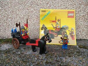 LEGO Chevalier 6022 – Vintage –Legoland Chariot
