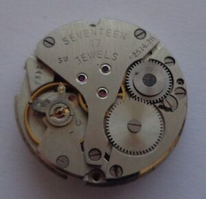 Vintage Mechanical Watch Movement Poljot 26142H   working condition parts spares