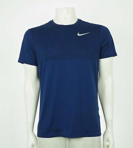 Nike Running Zonal Cooling Relay Blue Training Shirt Mens Medium