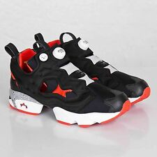 REEBOK PUMP FURY OG HIGHS & LOWS ''FROGMAN'' MEN'S SHOES SIZE US 3 BLACK V61216