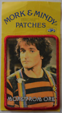 Robin Williams - Mork from Ork - Mork & Mindy TV Show 1979 - Sew on Patch New