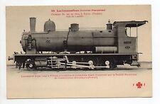Chemin de fer LOCOMOTIVE Train réf.  45 TUNISIE colonie française sfax à gafsa
