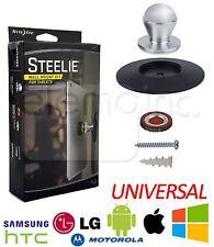 NITE IZE Steelie WALL MOUNT KIT + MAGNETIC SOCKET for iPad LG Galaxy Tab Tablet