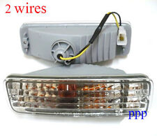 2 WIRES FOR TOYOTA PICKUP 4RUNNER CRYSTAL BUMPER PARKING SIGNAL LH RH 89-95