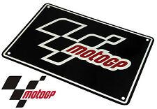 MOTOGP SIGN ALUMINIUM SIGN MOTO GP LOGO SIGN 205mm x 290mm