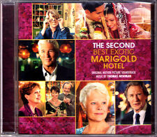 THE SECOND BEST EXOTIC MARIGOLD HOTEL Thomas Newman OST Soundtrack CD 2015 Sony
