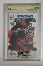 Captain America #6 First Winter Soldier CBCS / CGC 9.4 Signed Steve Epting