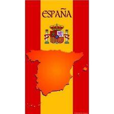 Serviette de plage Drap de bain Espagne strandtuch beach towel coton