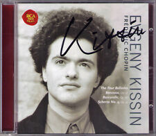 Evgeny Kissin signed Chopin Ballade 1 2 3 4 schzero No. 4 Barcarolle Berceuse CD