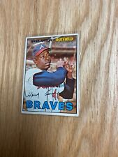 1967 Topps Hank Aaron Atlanta Braves #250 Baseball Card