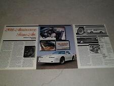 1988 PONTIAC 20TH ANIVERSARY TRANS AM article / ad