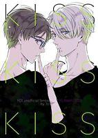 Yuri!!! on Ice YAOI Doujinshi ( Yuri Katsuki x Victor ) NEW!! KISS KISS KISS