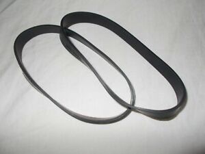 2 Belts for Vax W85-PP-T  W85-PL T Dual Power Pro Carpet Cleaner Belt 1913578100