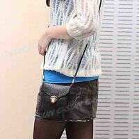 PU Leather Cellphone Coin Womens Crossbody Shoulder Hand Bag Tote Purse Pouch S