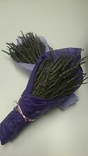 """6 Beautiful Decorated Smell Good 8""""-10"""" Dried Lavender"""