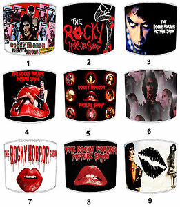 Transvestite Lampshades Ideal To Match The Rocky Horror Show Films Wall Art