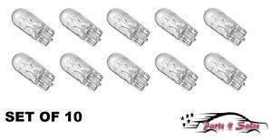 NEW Mercedes R107 W123 W124 W201 OSRAM OEM Instrument Panel Light Bulb Set of 10