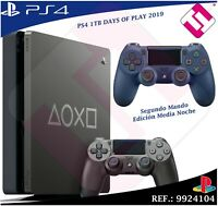 DAYS OF PLAY PS4 1TB 2019 PLAYSTATION 4 + MANDO MEDIA NOCHE EDICION LIMITADA