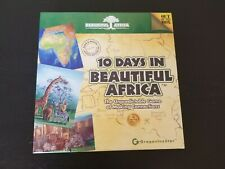 10 Days in Africa Board Game -Complete, VGC- 2009 Out of the Box Publishers