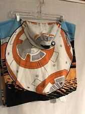 Star Wars BB8 Toddler Hooded Bath Towel Poncho Style