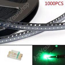 1000Pcs 0603 (1608) Green Verde Light SMD SMT LED Diodes Emitting Super Bright